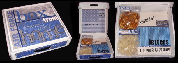 box from home - military goodie box