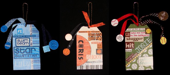 sport tags for bags