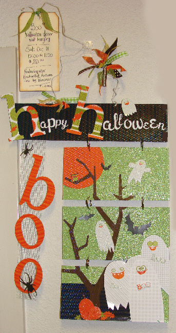 boo halloween wall decor