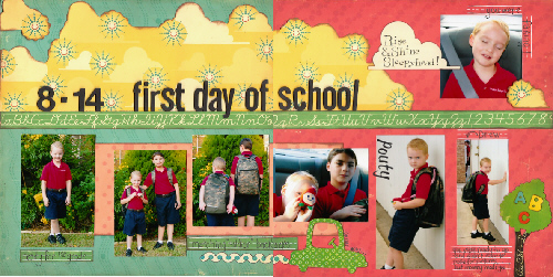 8-14 first day of school