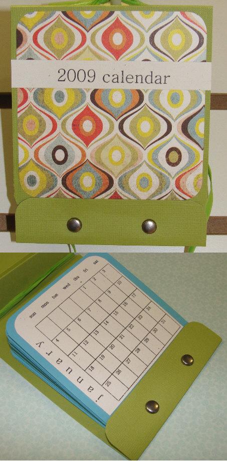 matchbook calendar kit