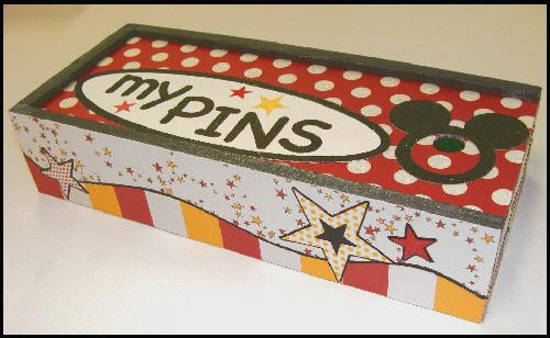 """""""my pins"""" - Disney collectible pin box"""
