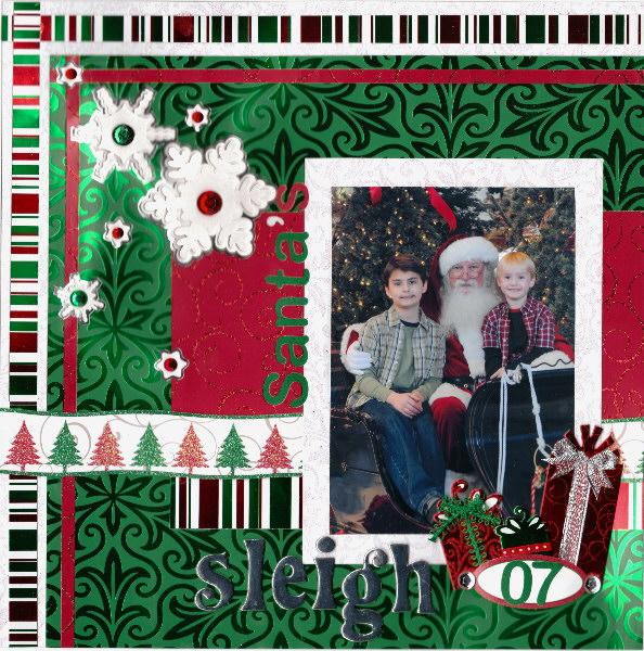 santas sleigh - 600