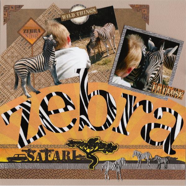 zebra safari - 600