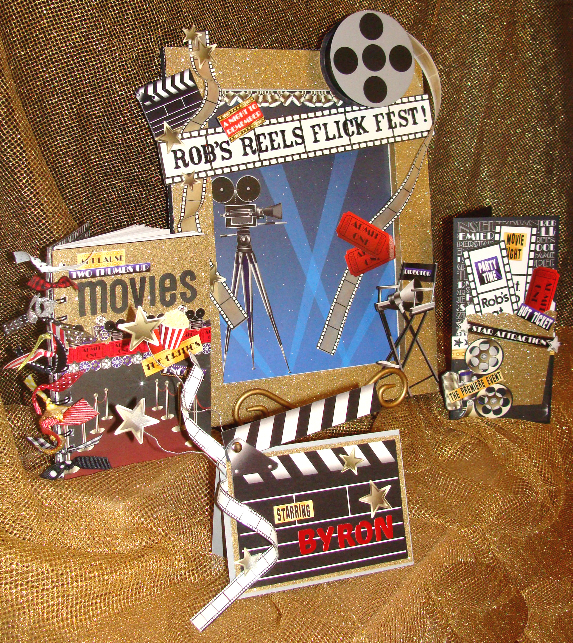 hollywood party set | tami sanders * paper crafter