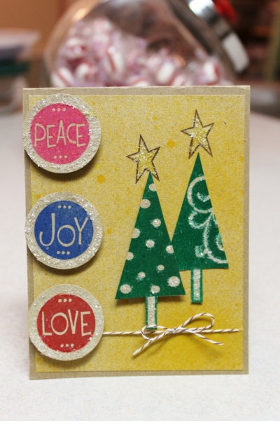 christmas tree card - stephanie barnard,colorbox,clearsnap,sprinkles chunky glitter,dye ink,premium dye ink,christmas papercraft,stamped card,tami sanders - card (682x1024)