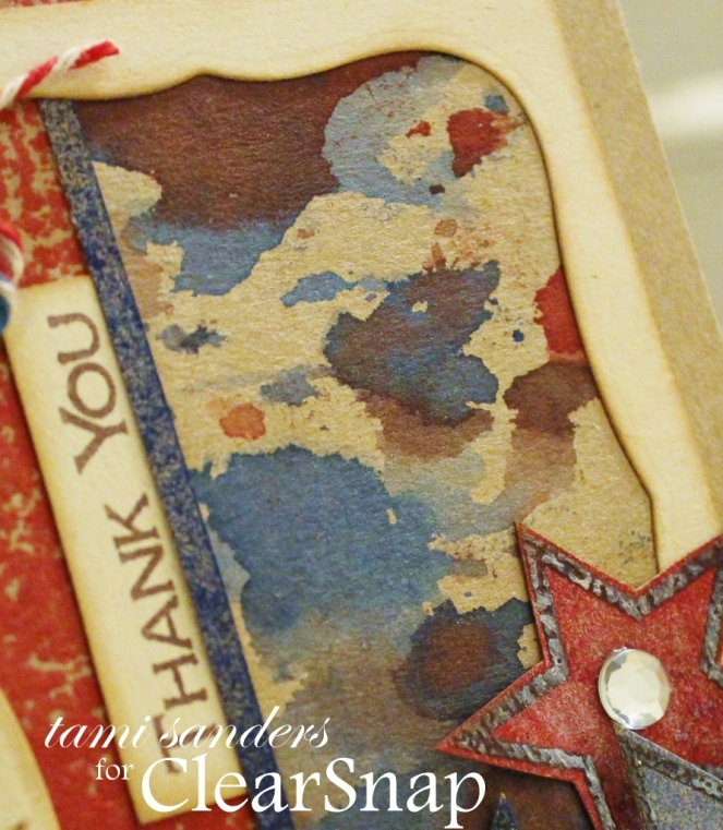 thank you service card_clearsnap_colorbox_patriotic card_ dye ink_4th of july_stamped_top boss_tami sanders_camo wm