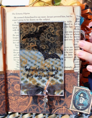 steampunk altered book - page 1 (795x1024)