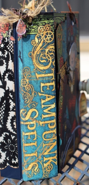 steampunk altered book - spine 1 (495x1024)