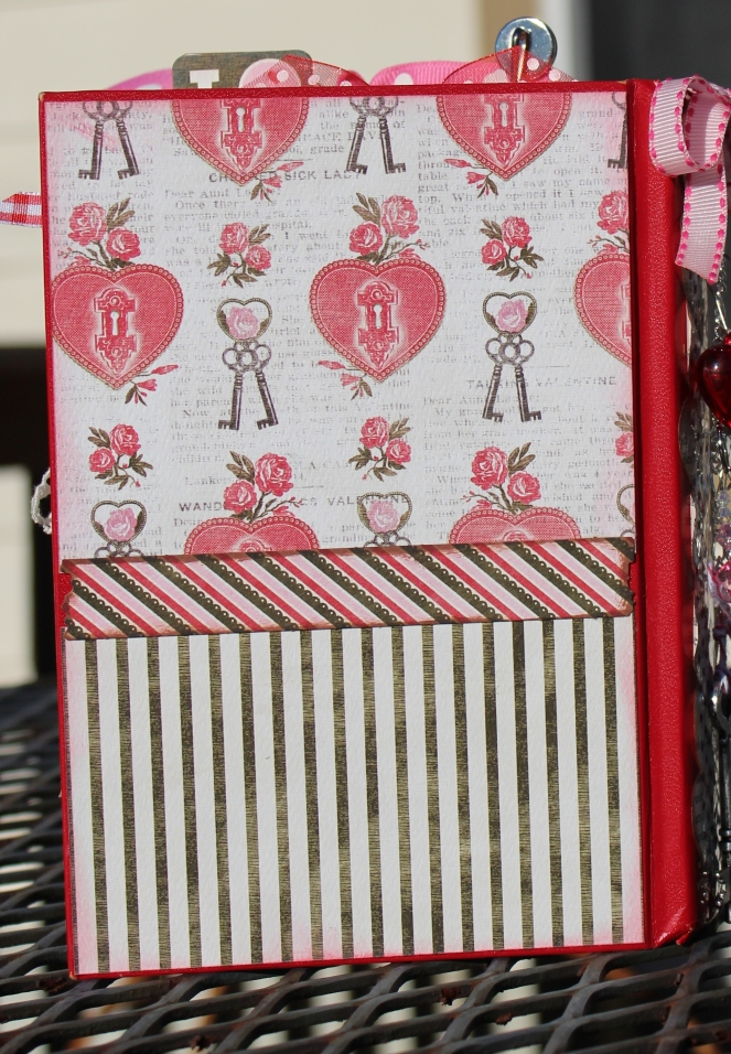 2014 valentine altered book - back cover
