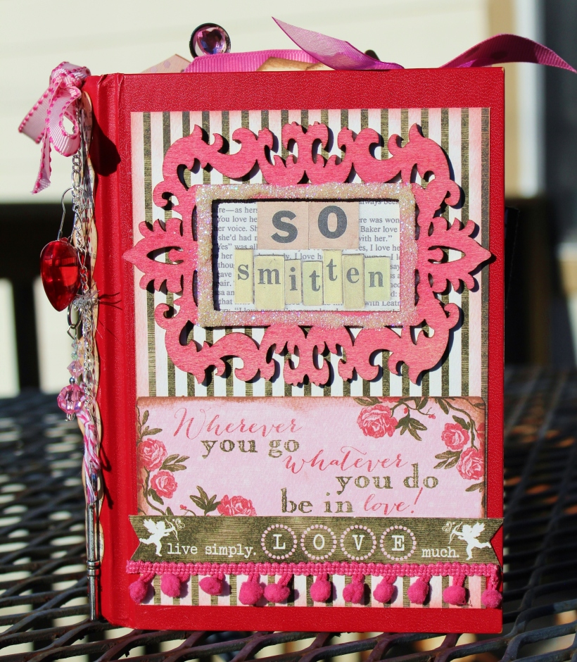 2014 valentine altered book - frt cover