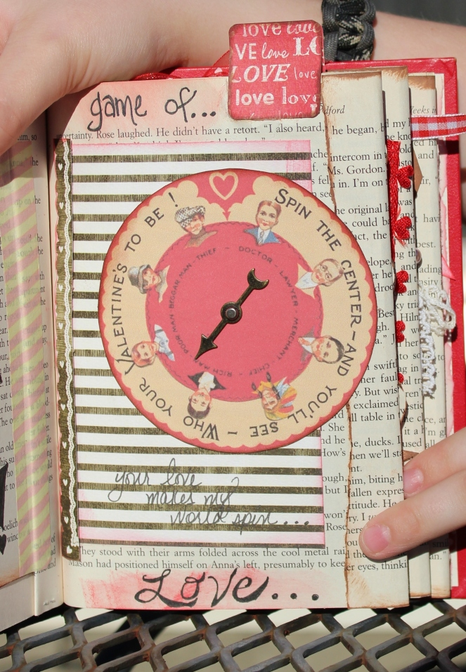 2014 valentine altered book - page 11