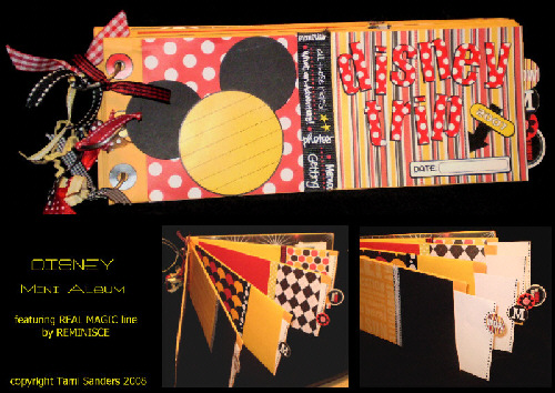 disney mini album 500