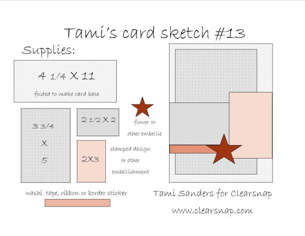 card sketch #13