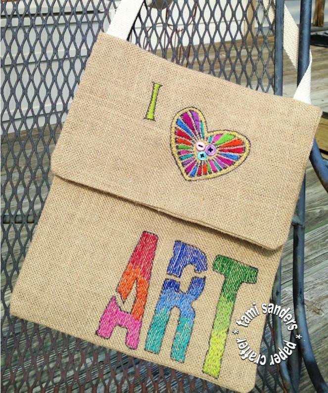 heart art purse - snapguide - wm