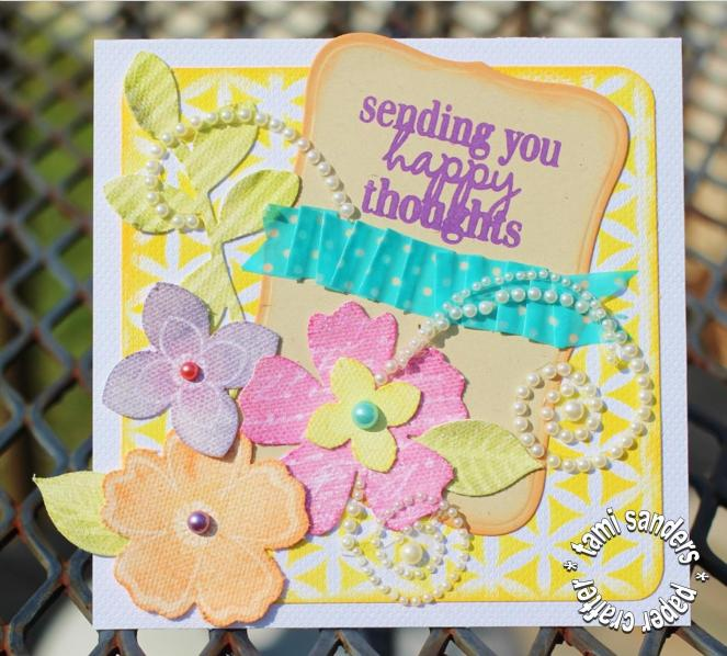 happy thoughts - clearsnap_colorbox_pigment inks_stamped card_stenciled card_the crafters workshop_world card making day 2014_tami sanders -card wm